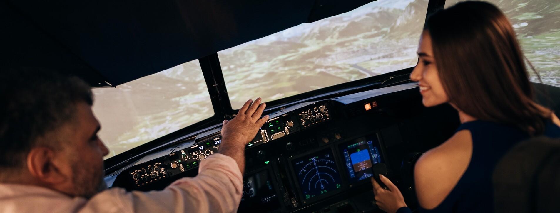 Fotoğraf 1 - İki Kişi için Boeing 737 Simülatörü ile Yurt içi Seferi Deneyimi