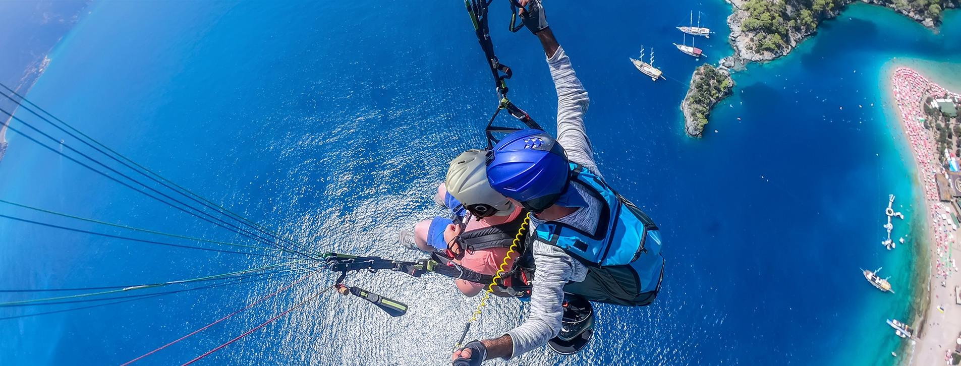 Fotoğraf - İki Kişi için Yamaç Paraşütü Tandem Uçuşu ve Video Çekimi