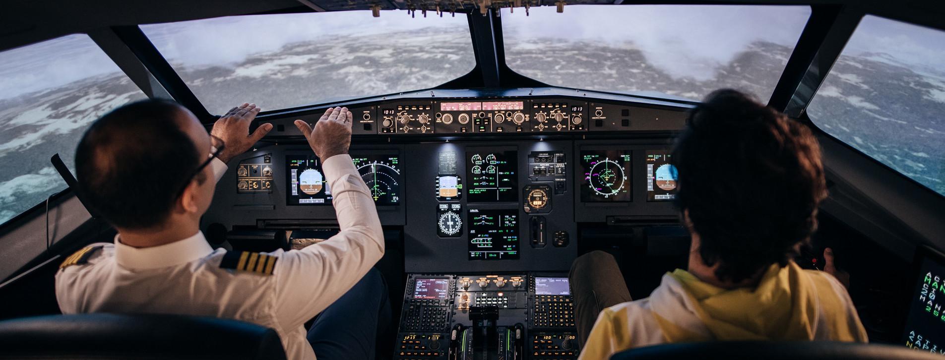 Fotoğraf 1 - Airbus A320 Uçuş Simülatörü Deneyimi