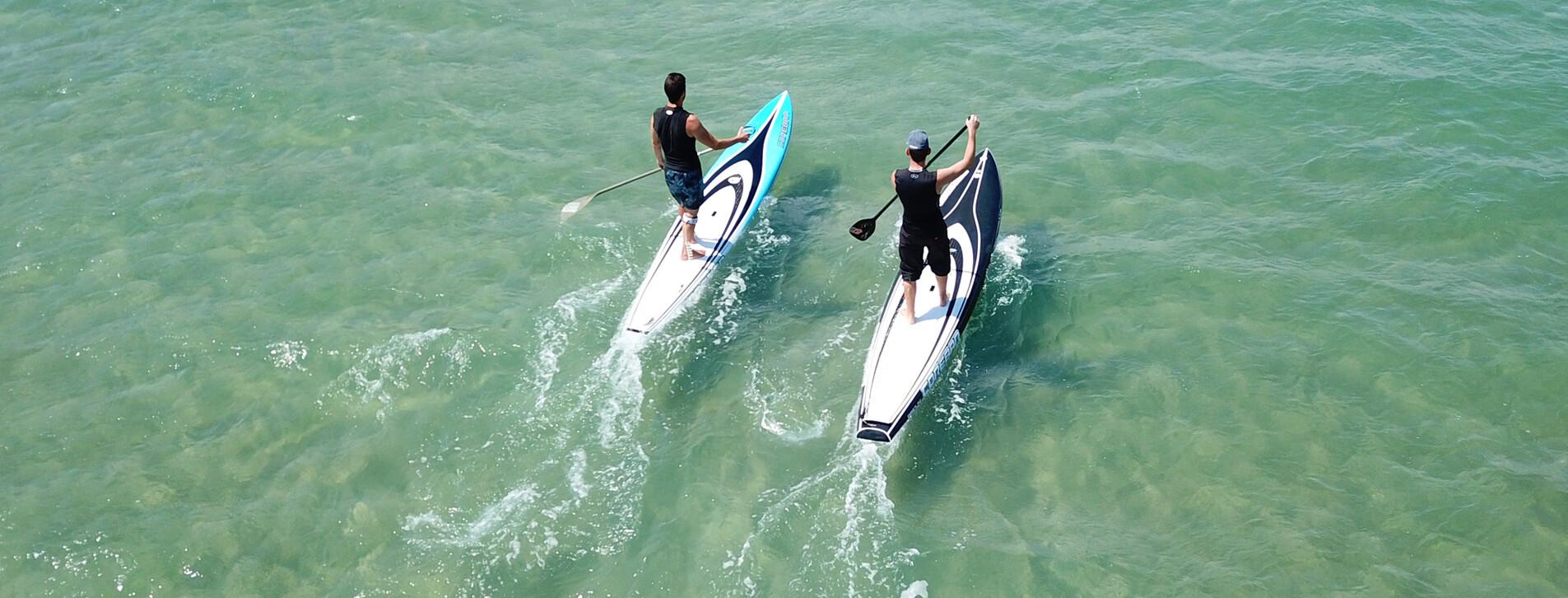 Fotoğraf 1 - İki Kişi için Stand Up Paddle Kiralama