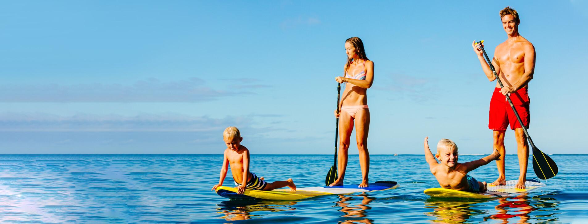 Fotoğraf 1 - Aile için Stand Up Paddle Kiralama