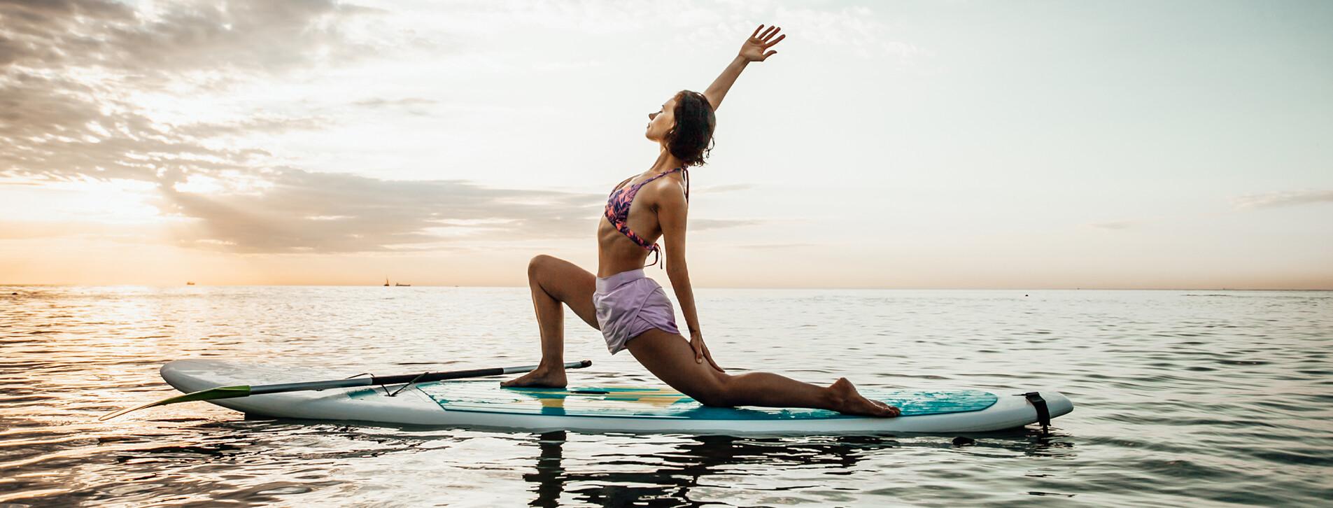 Fotoğraf 1 - İki Kişi için SUP Yoga