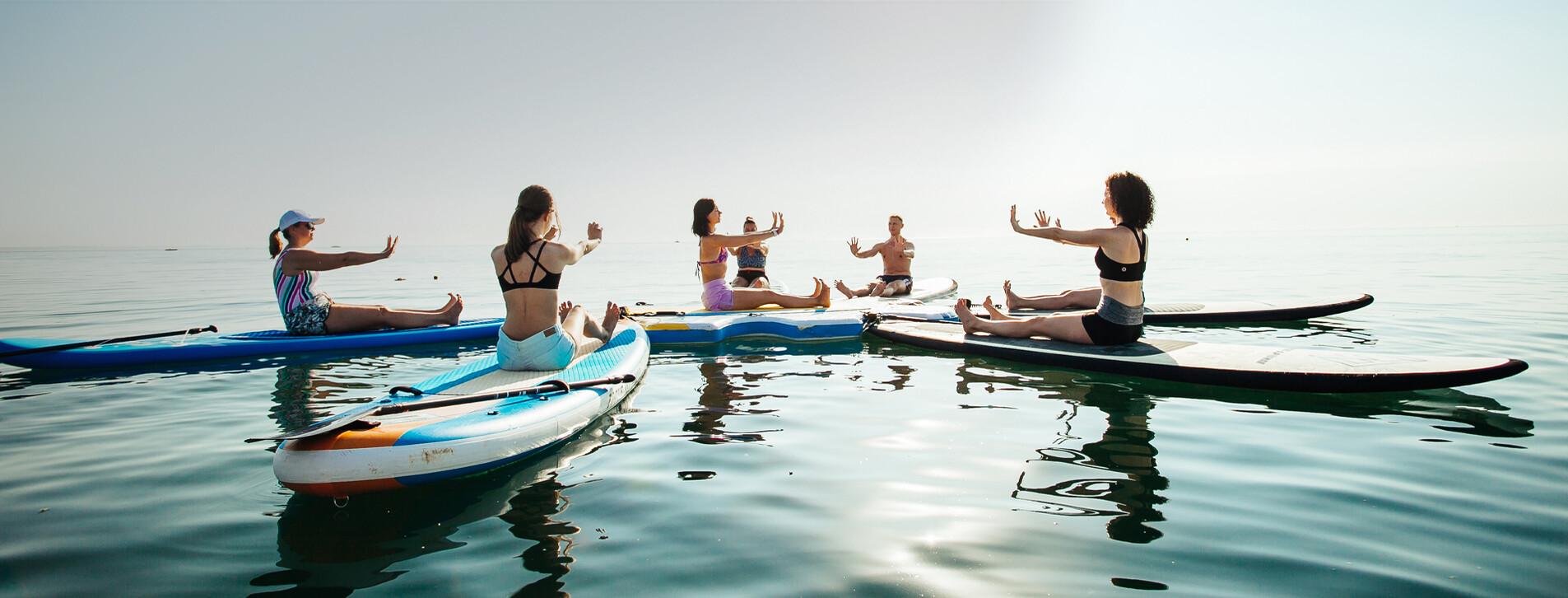 Fotoğraf 1 - Arkadaş Grubu için SUP Yoga