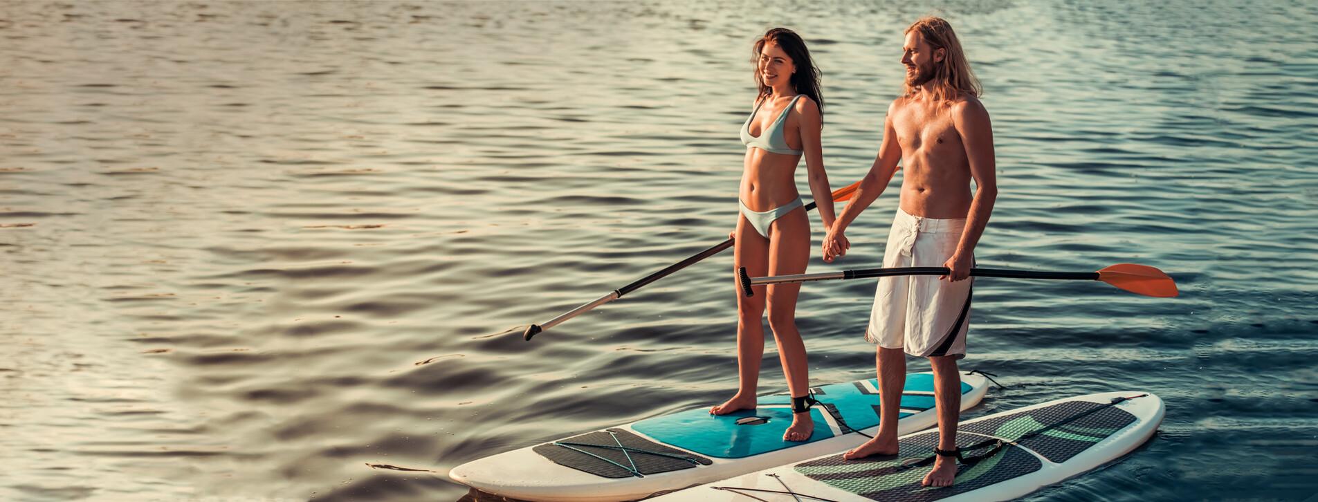 Fotoğraf 1 - İki Kişi için Stand Up Paddle Turu