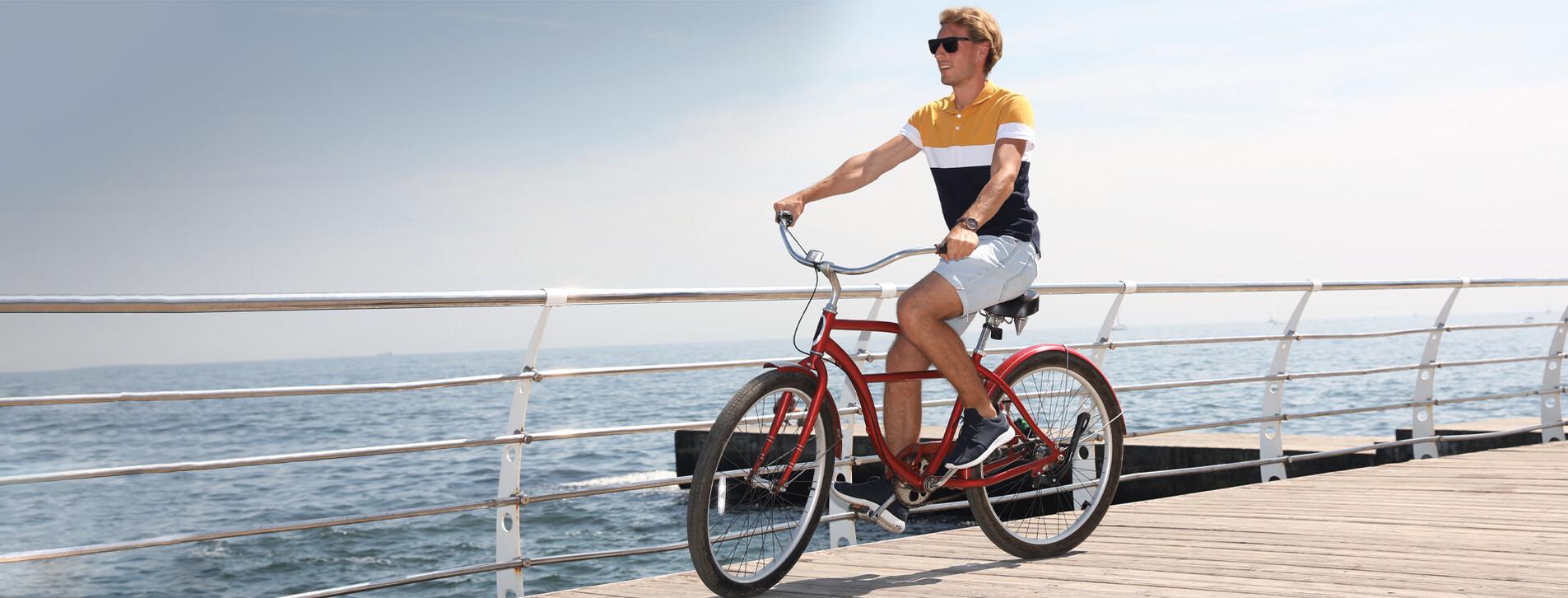 Fotoğraf 1 - Deniz Kıyısında Bisiklet Turu