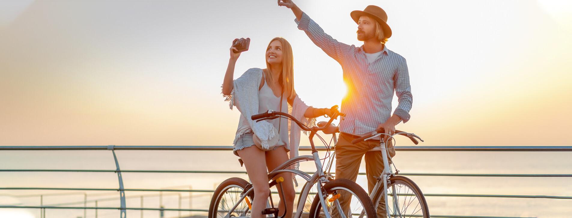 Fotoğraf 1 - İki Kişi için Deniz Kıyısında Bisiklet Turu