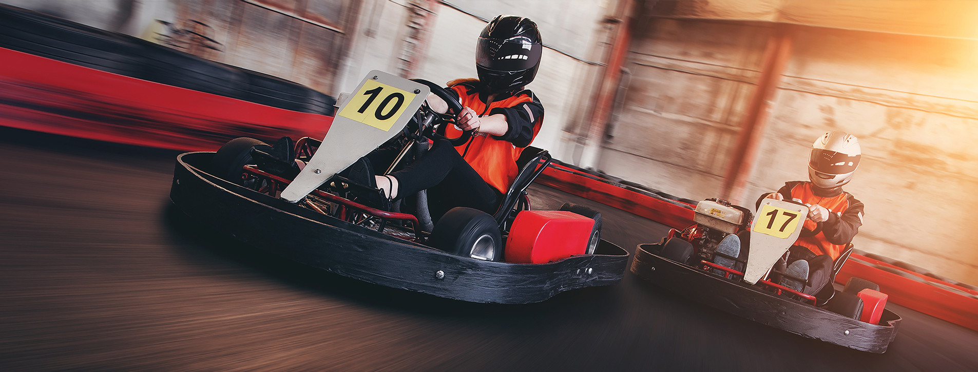 Fotoğraf - İki Kişi için Karting