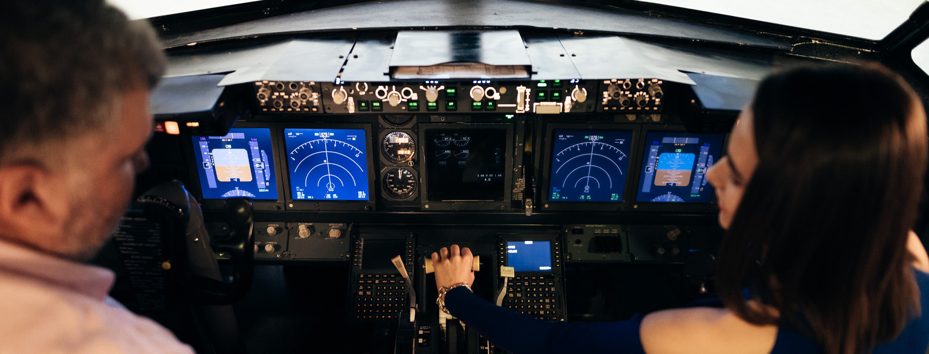 Fotoğraf 1 - Boeing 737 Uçuş Simülatörü Deneyimi