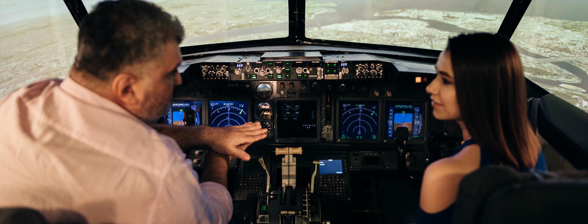 Fotoğraf - İki Kişi için Boeing 737 Uçuş Simülatörü Deneyimi