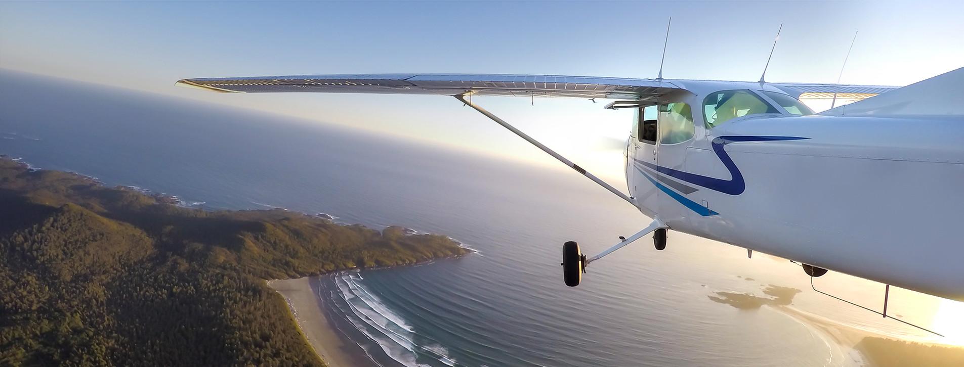 Fotoğraf - Karadeniz üzerinde Küçük Uçak Turu