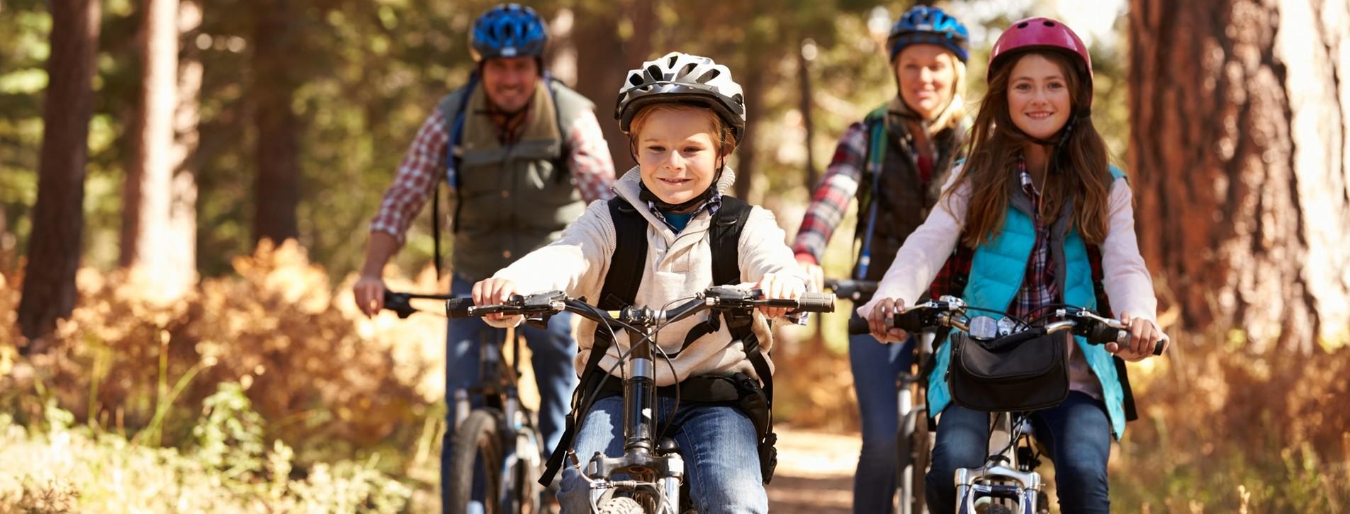 Fotoğraf - Aile için Orman Bisiklet Turu